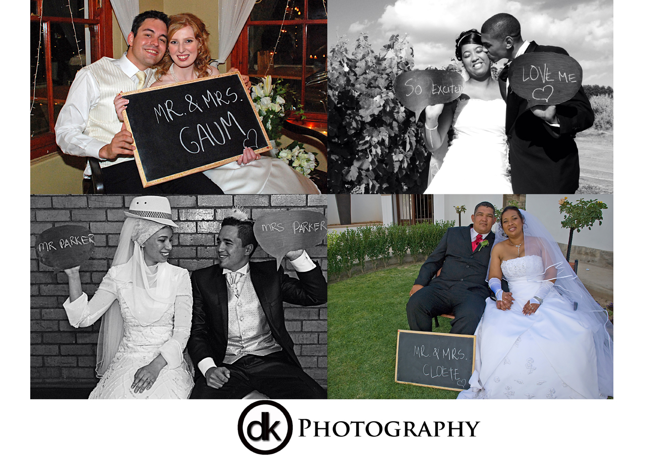 DK Photography collage-prop Props We Love...  Cape Town Wedding photographer